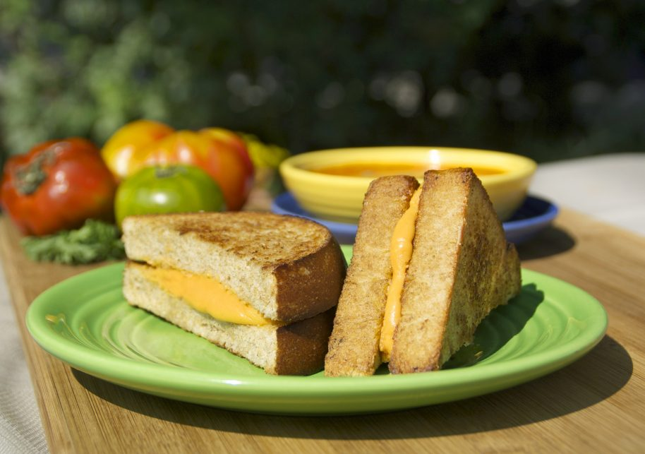 """Grilled """"Cheese"""" with a Twist"""