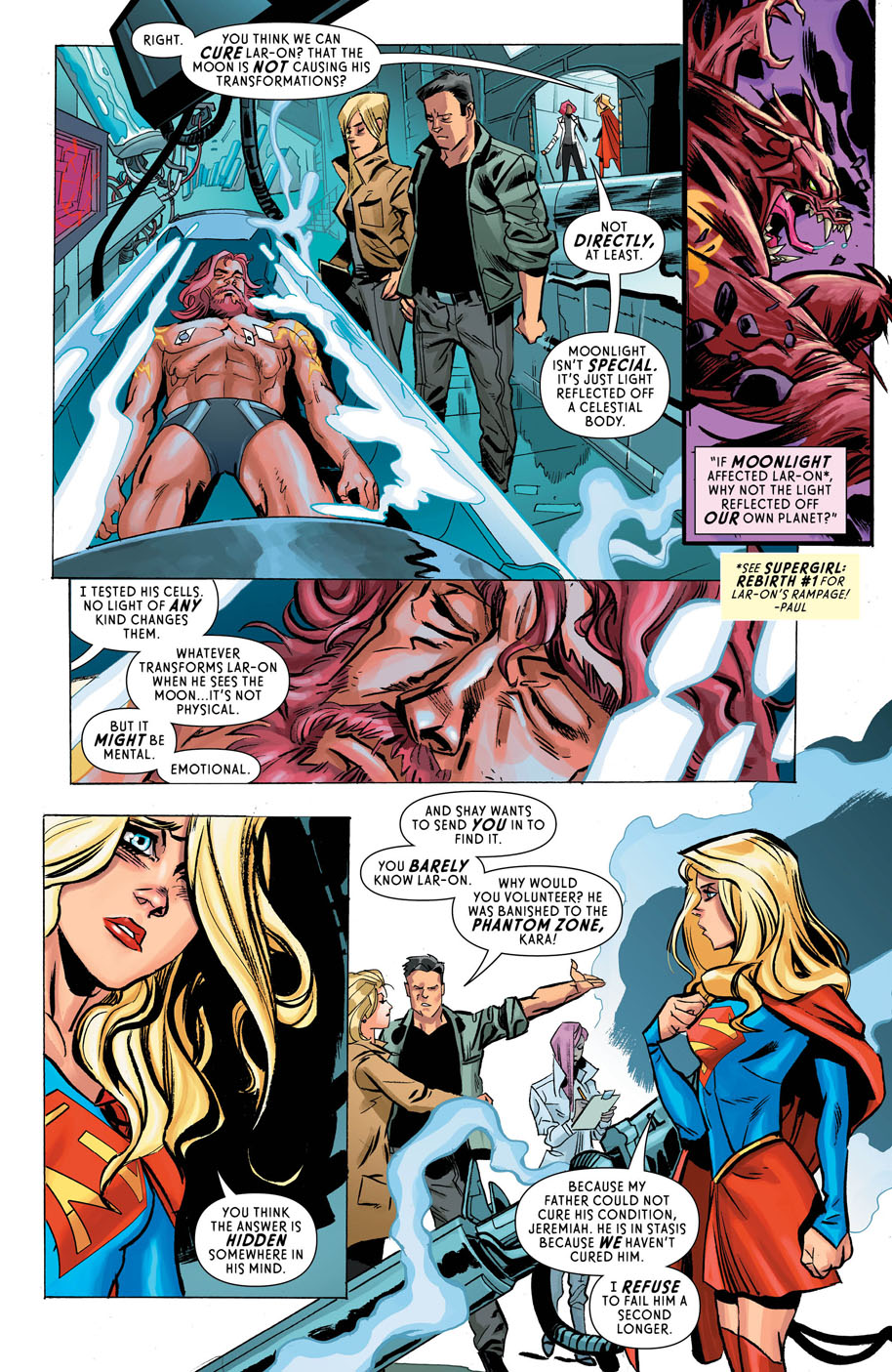 Supergirl 7 page 2