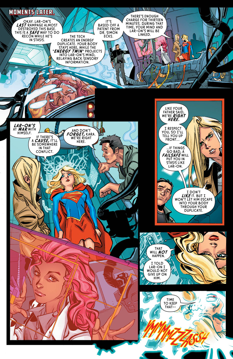 Supergirl 7 page 3