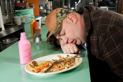 How to gain weight: sleep after eating