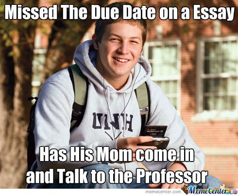 The Best Funny College Freshman Meme