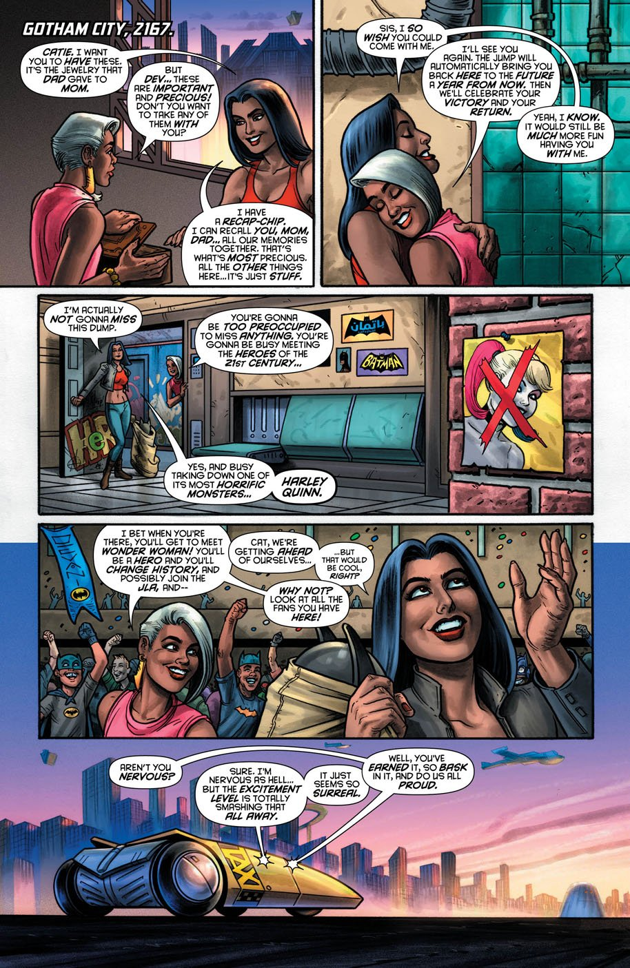Harley Quinn 18 page 1