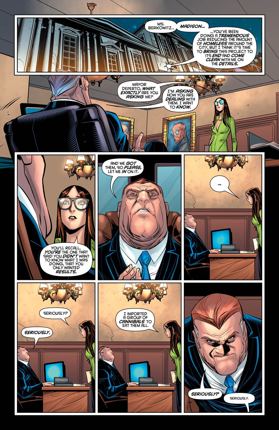 Harley Quinn 18 page 5a