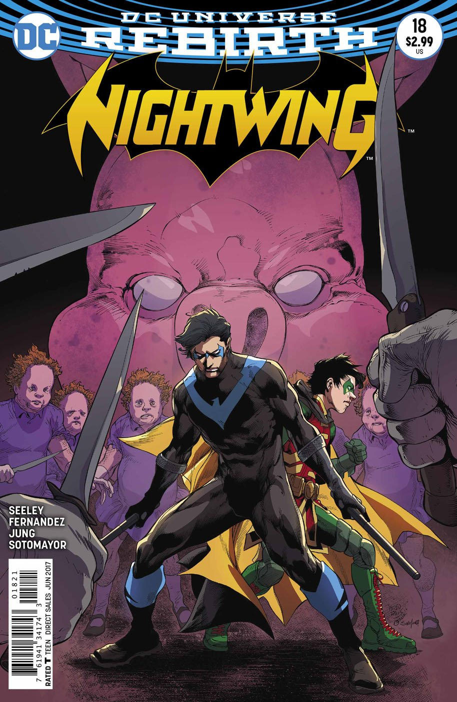 Nightwing 18 open order variant cover