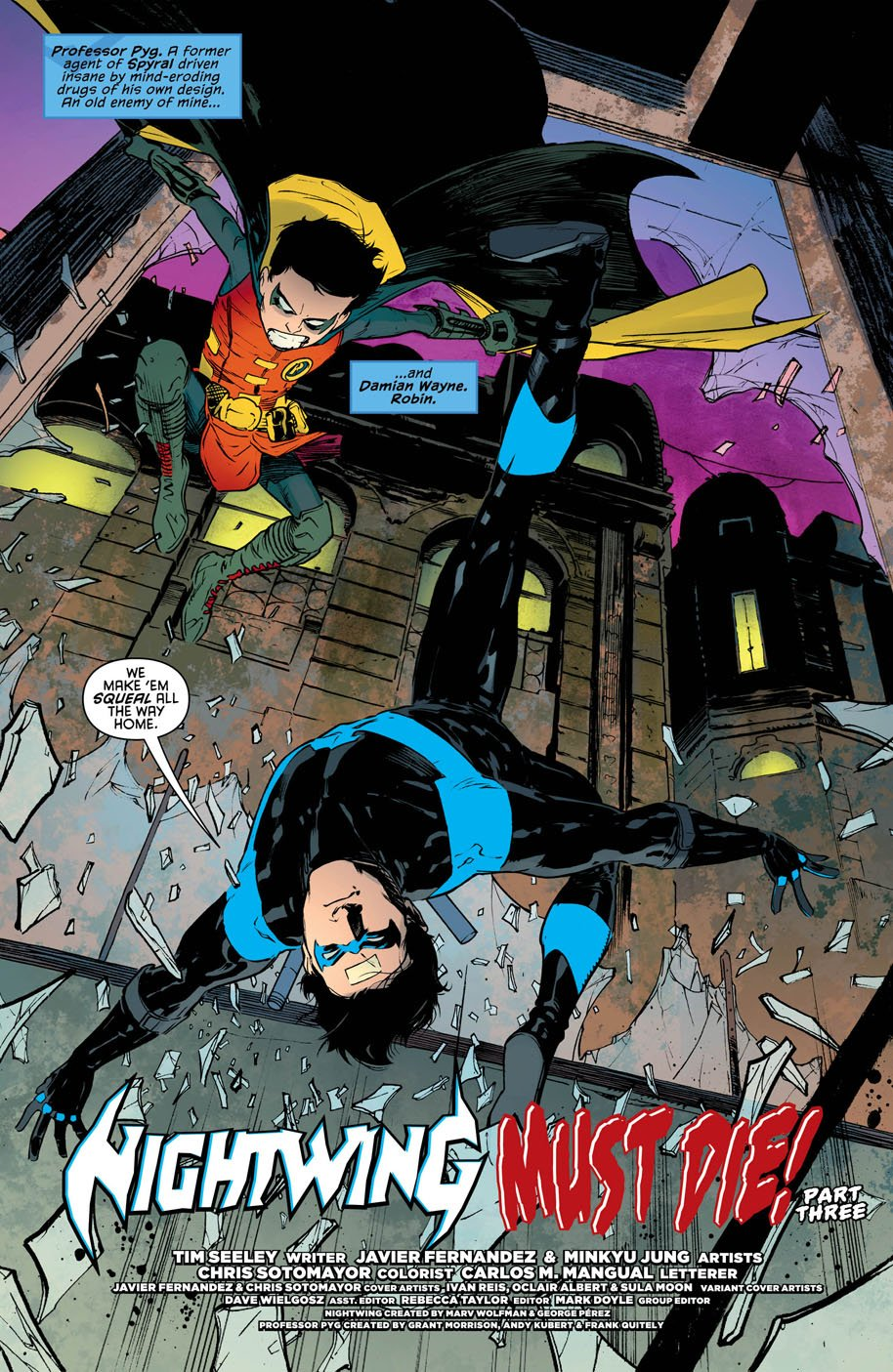 Nightwing 18 page 3