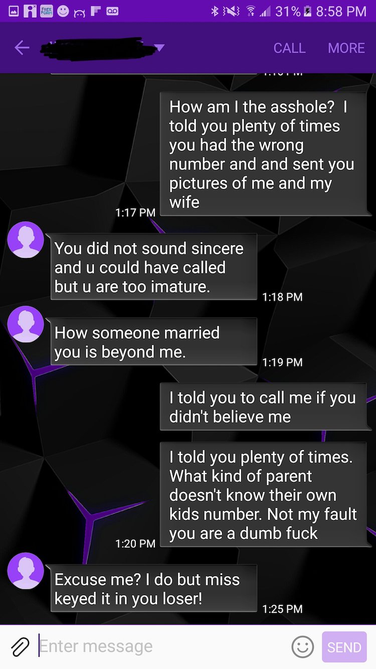 wrong number text11