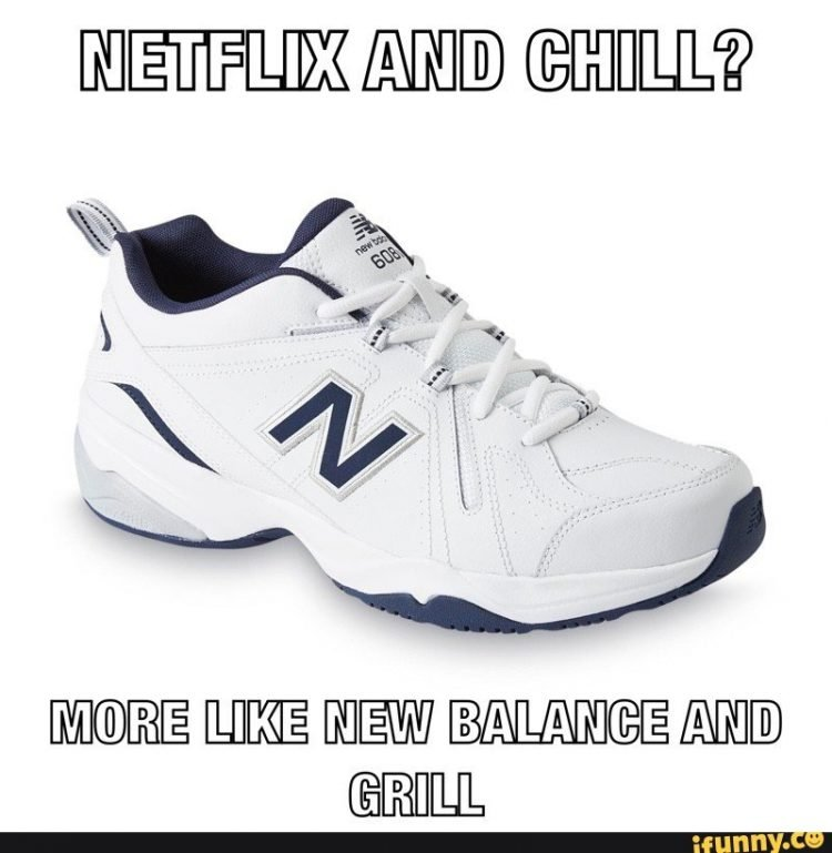 New Balance and grill internet memes