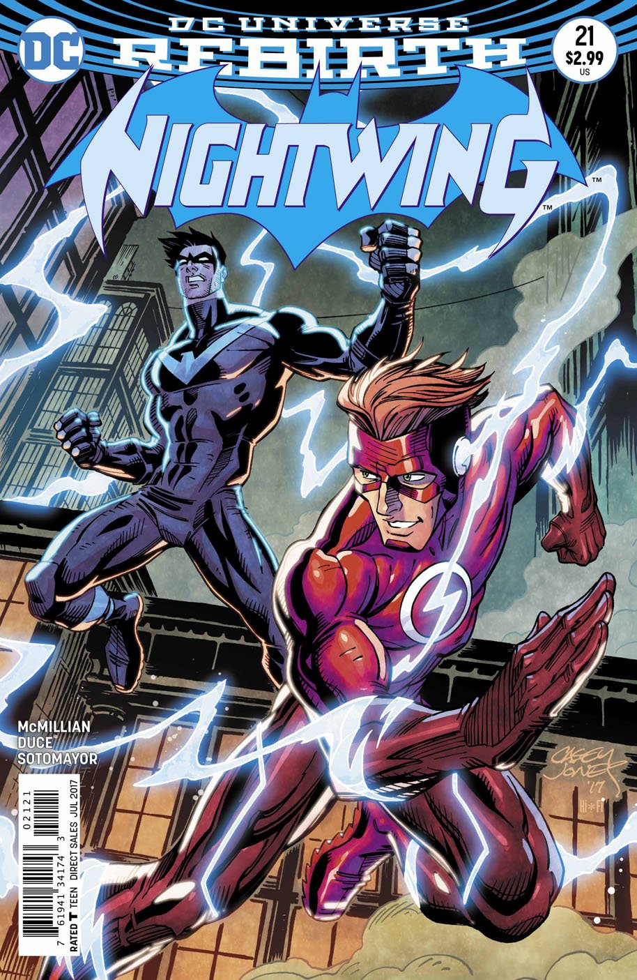 Nightwing 21 open order variant cover