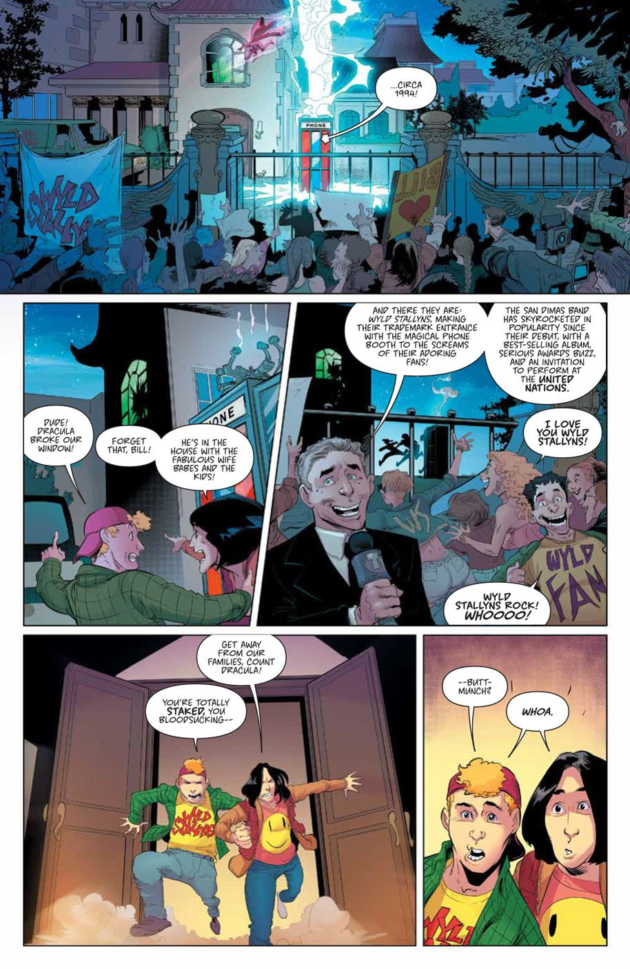 Bill & Ted Save the Universe 1 page 5
