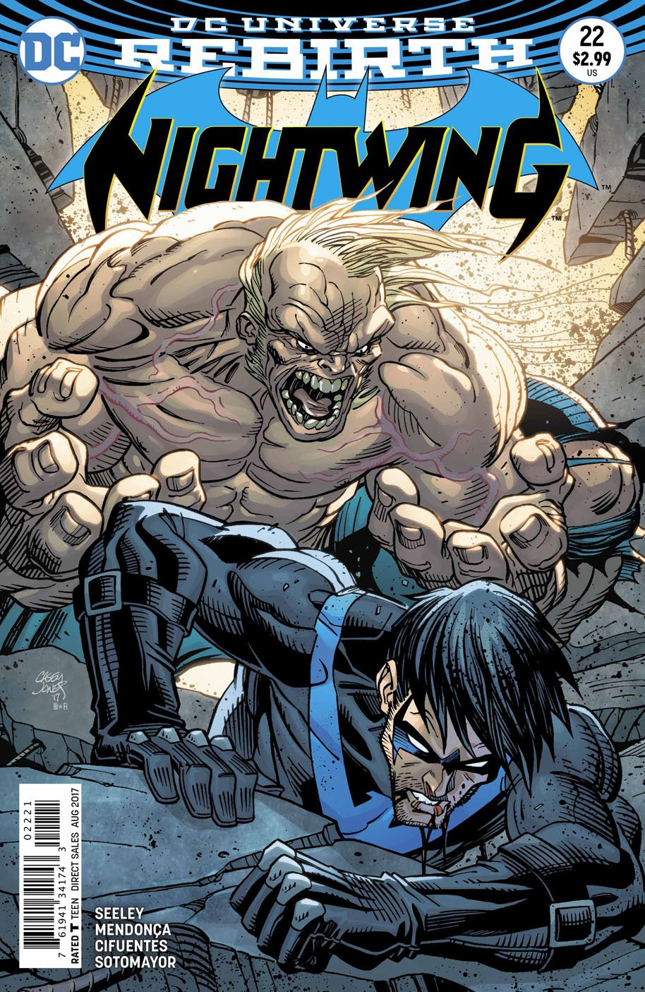 Nightwing 22 open order variant cover
