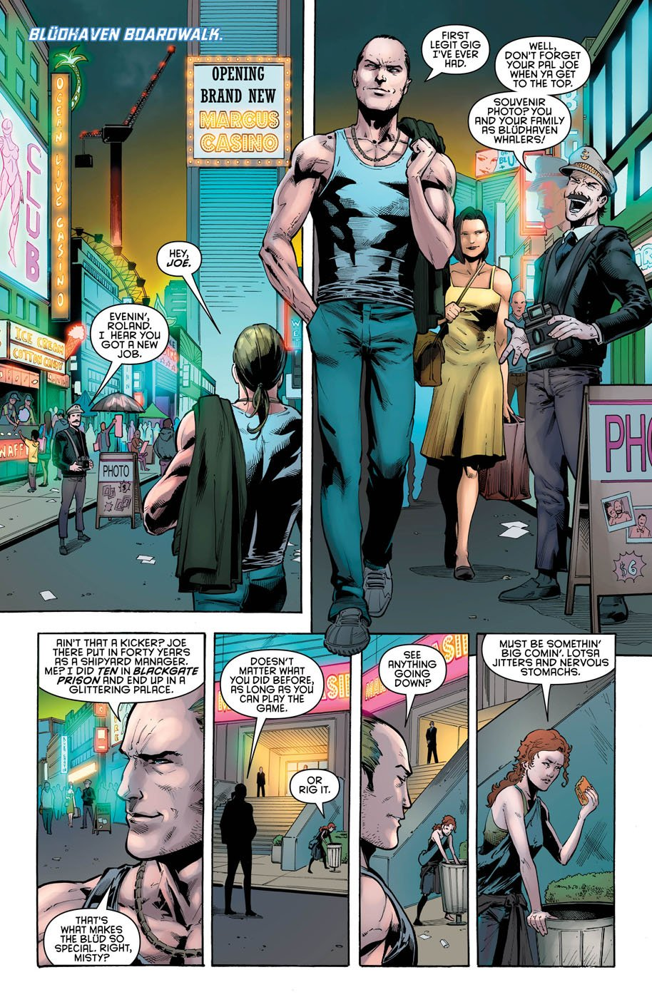 Nightwing 22 page 1