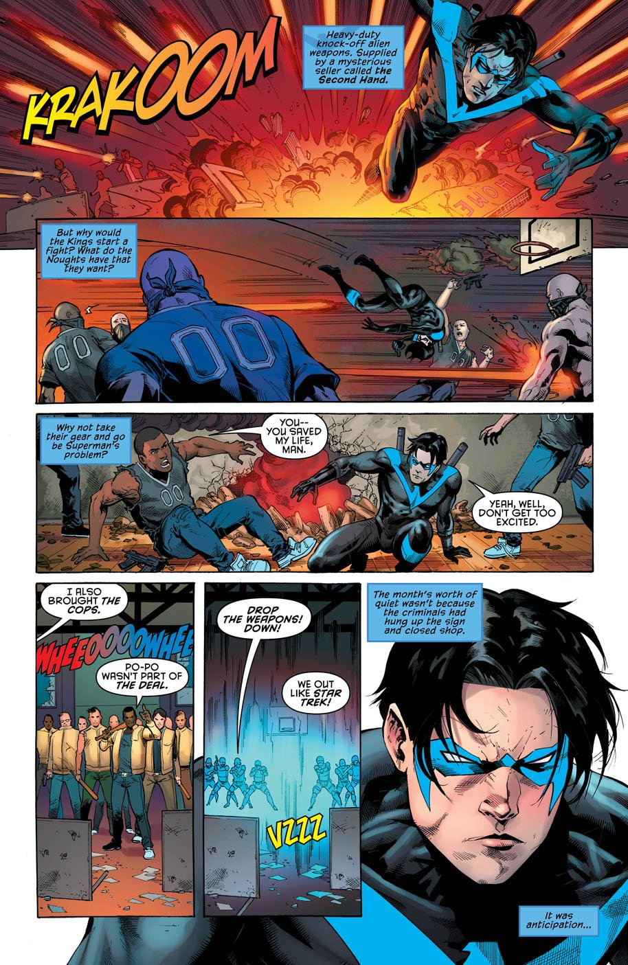 Nightwing 22 page 5