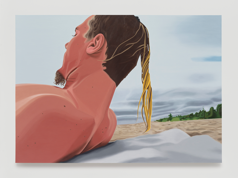 Peter Cain. Sean Number Two, 1996. Oil on linen, 60 x 84 inches, 152 x 213 cm.