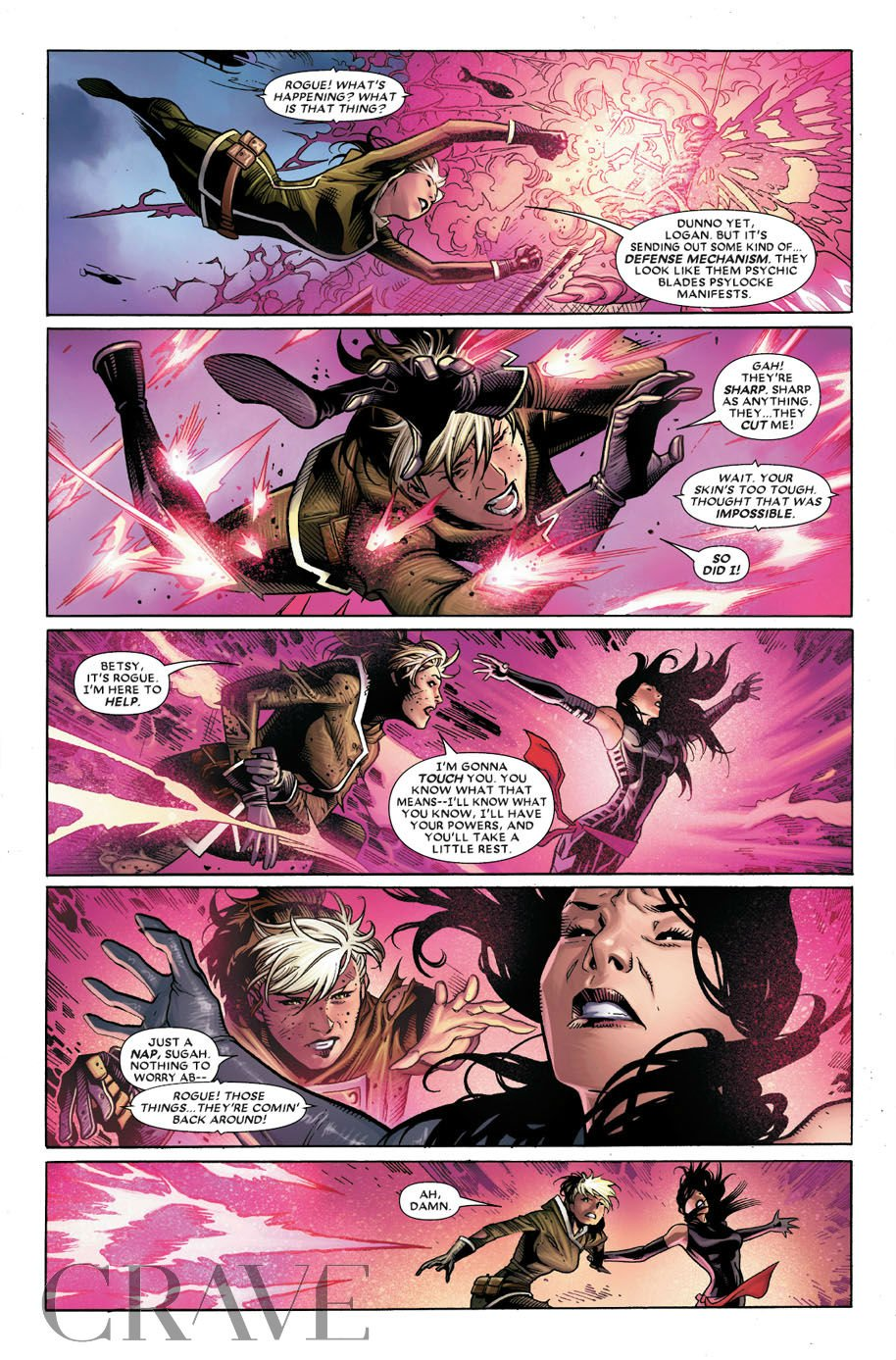 Astonishing X-Men 1 preview page 4