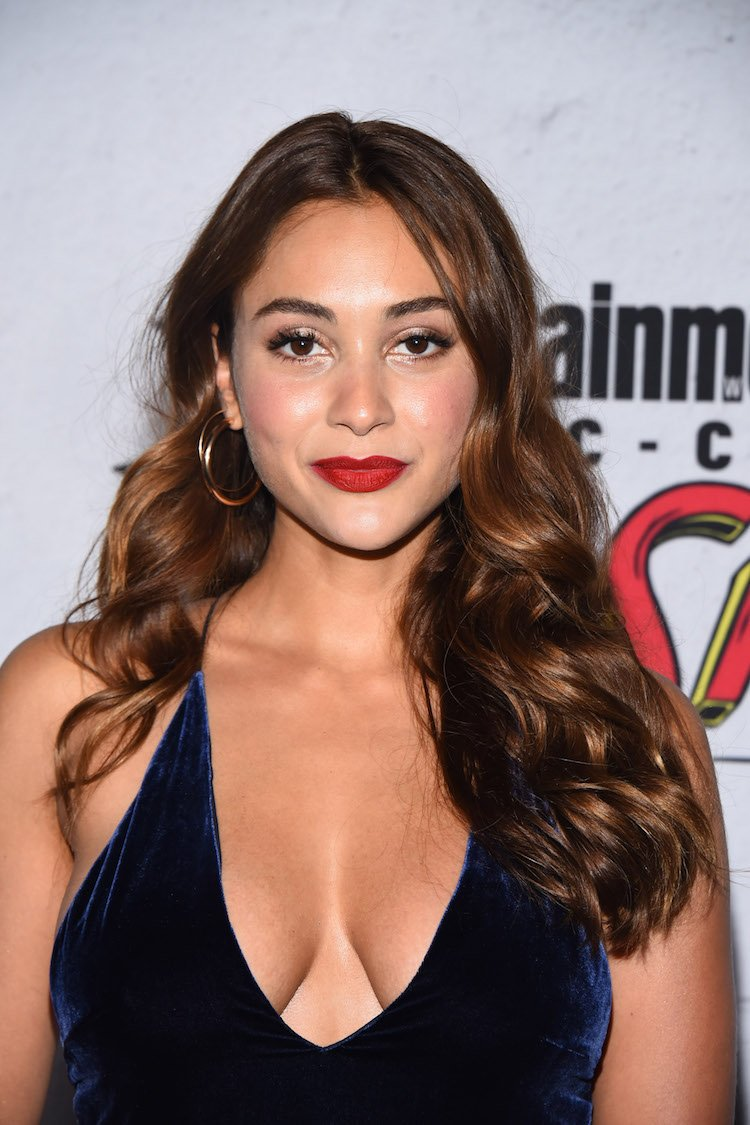 SAN DIEGO, CA - JULY 22: Lindsey Morgan attends the Entertainment Weekly's Annual Comic-Con Party 2017 at Float at Hard Rock Hotel San Diego on July 22, 2017 in San Diego, California. (Photo by Araya Diaz/WireImage)