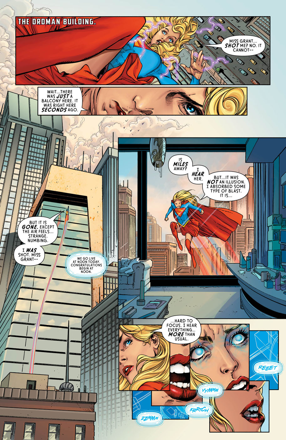 Supergirl 12 page 3