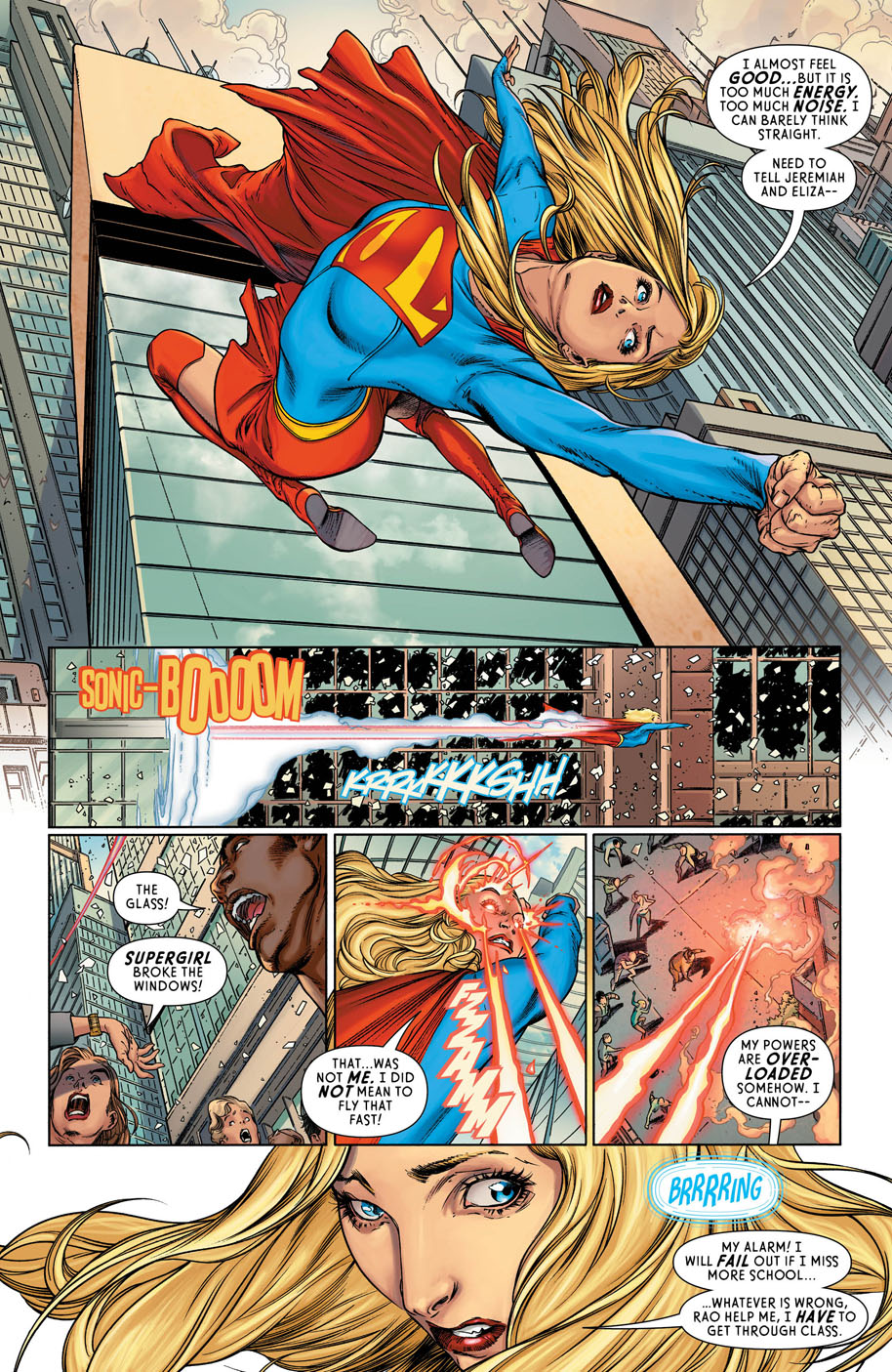 Supergirl 12 page 4