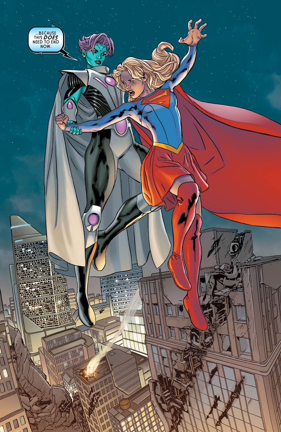 Supergirl Annual 1 page 5