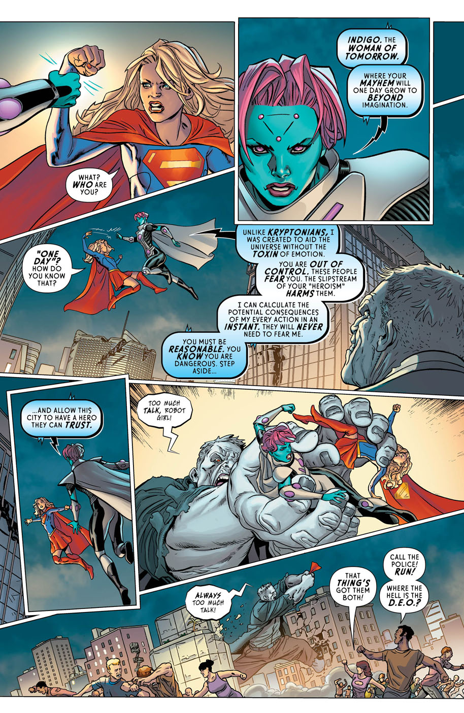 Supergirl Annual 1 page 6