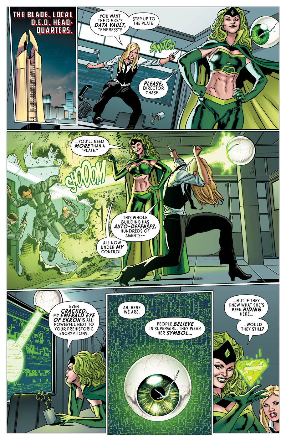 Supergirl Annual 1 page 7