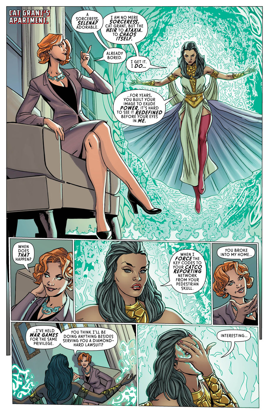 Supergirl Annual 1 page 8