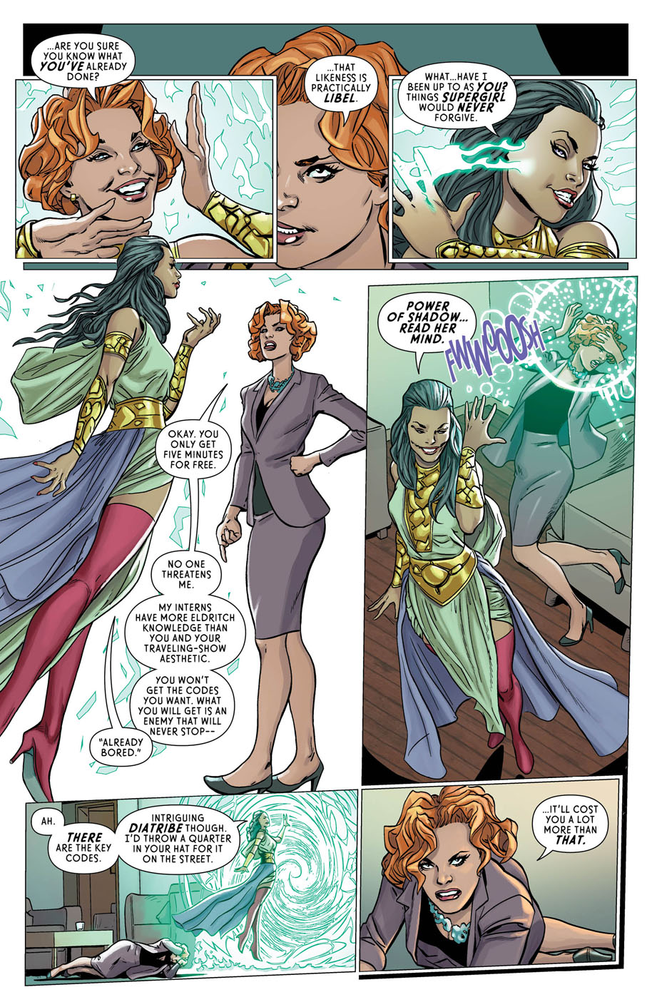 Supergirl Annual 1 page 9