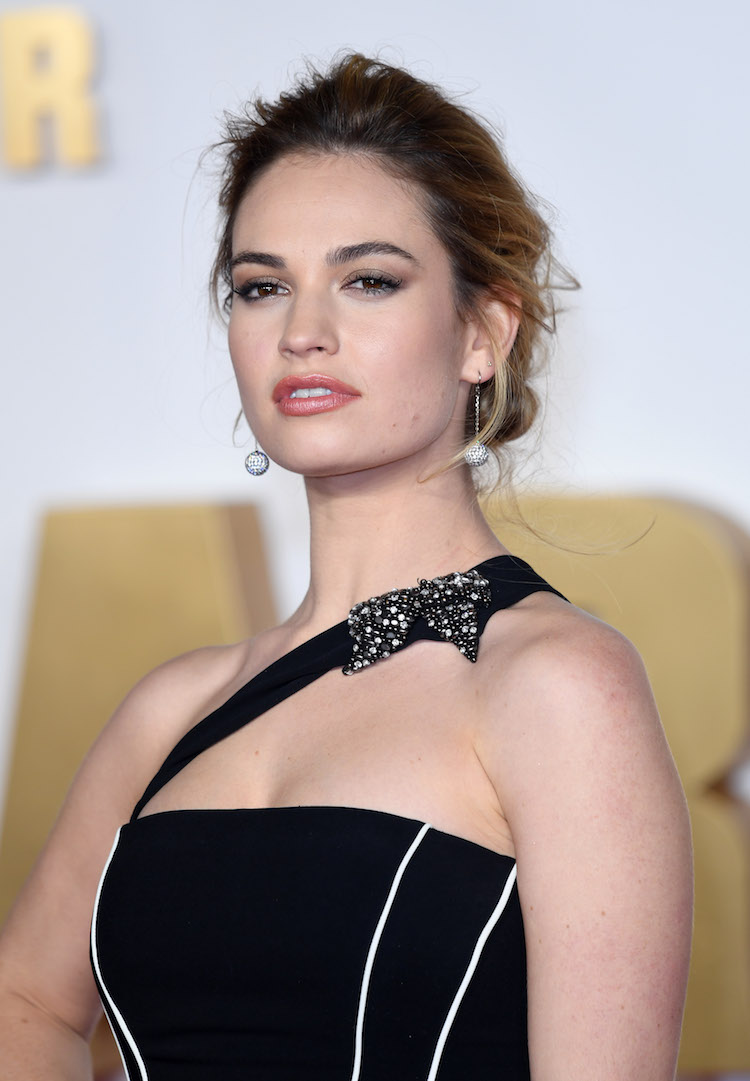 Lily james sexy