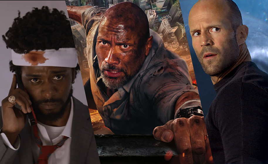 skyscraper 2018, the meg 2018, this week in trailers, comingsoon.net, sorry to bother you 2018