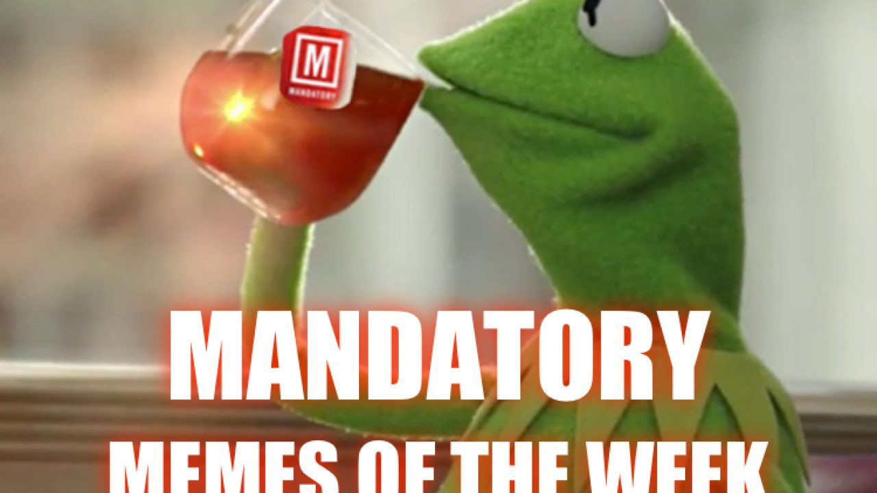 The Mandatory Monday Memes Are Here So Get Your Scroll On