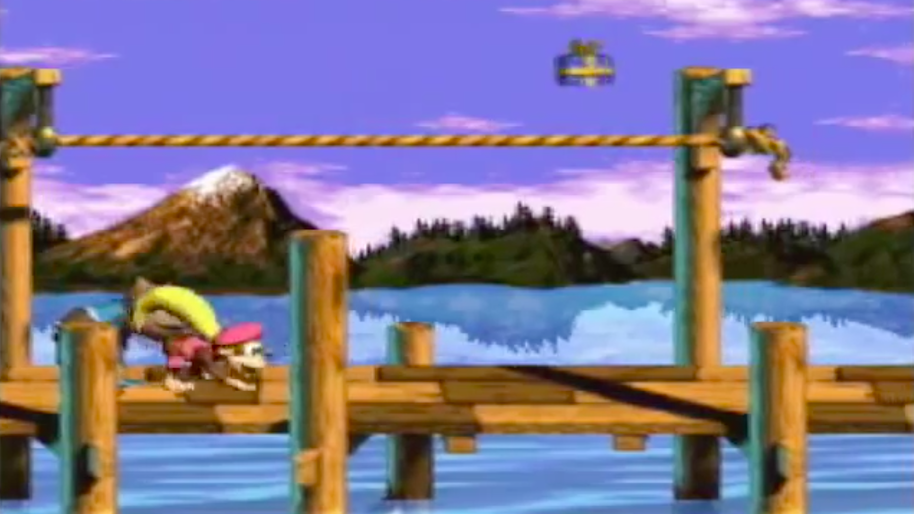 'Donkey Kong Country 3: Dixie Kong's Double Trouble'