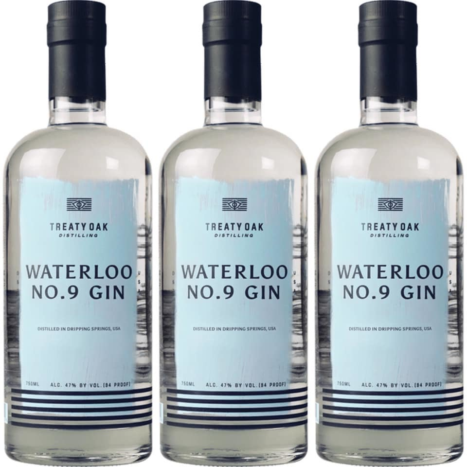 Treaty Oak Waterloo No. 9 Gin