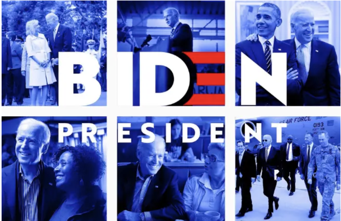 Joe Biden Announces His Run For President With a Troubling Graphic