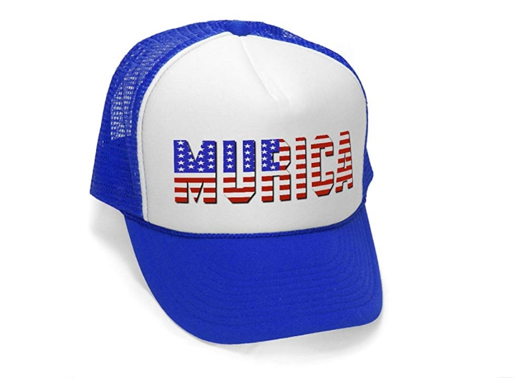 Mean Gear's 'Murica Fourth of July USA Vintage Style Trucker Hat