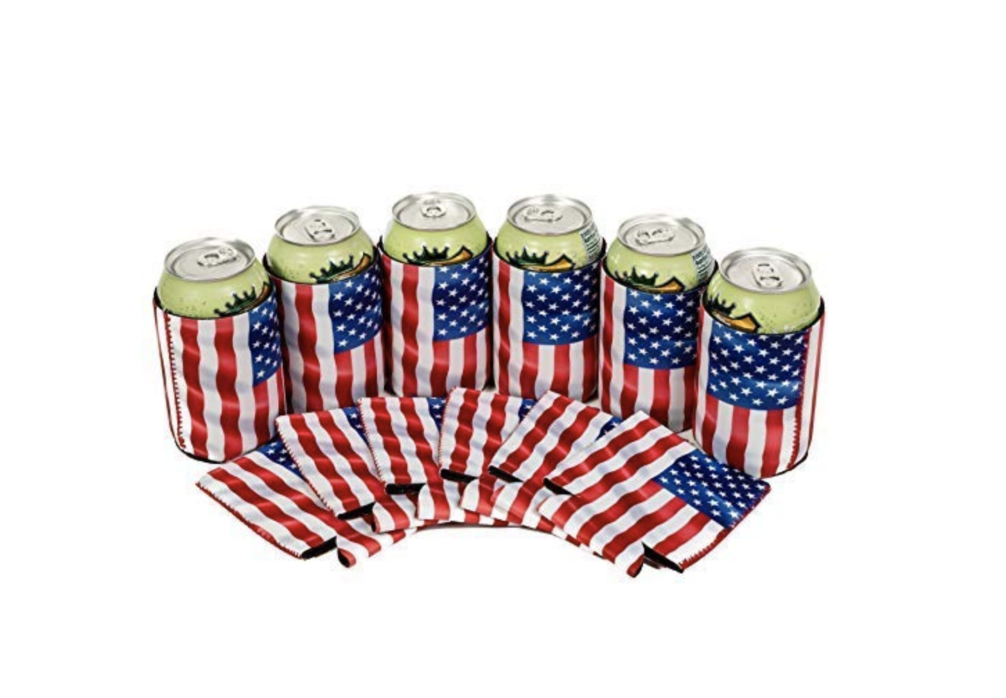 QualityPerfection's USA Flag Themed Drink Coozies