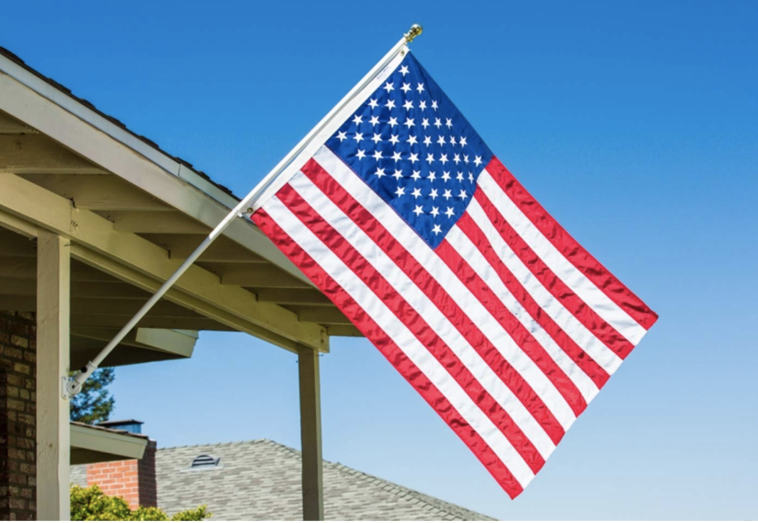 Grace Alley's American Made Quality Embroidered Stars & Sewn Stripes Flag