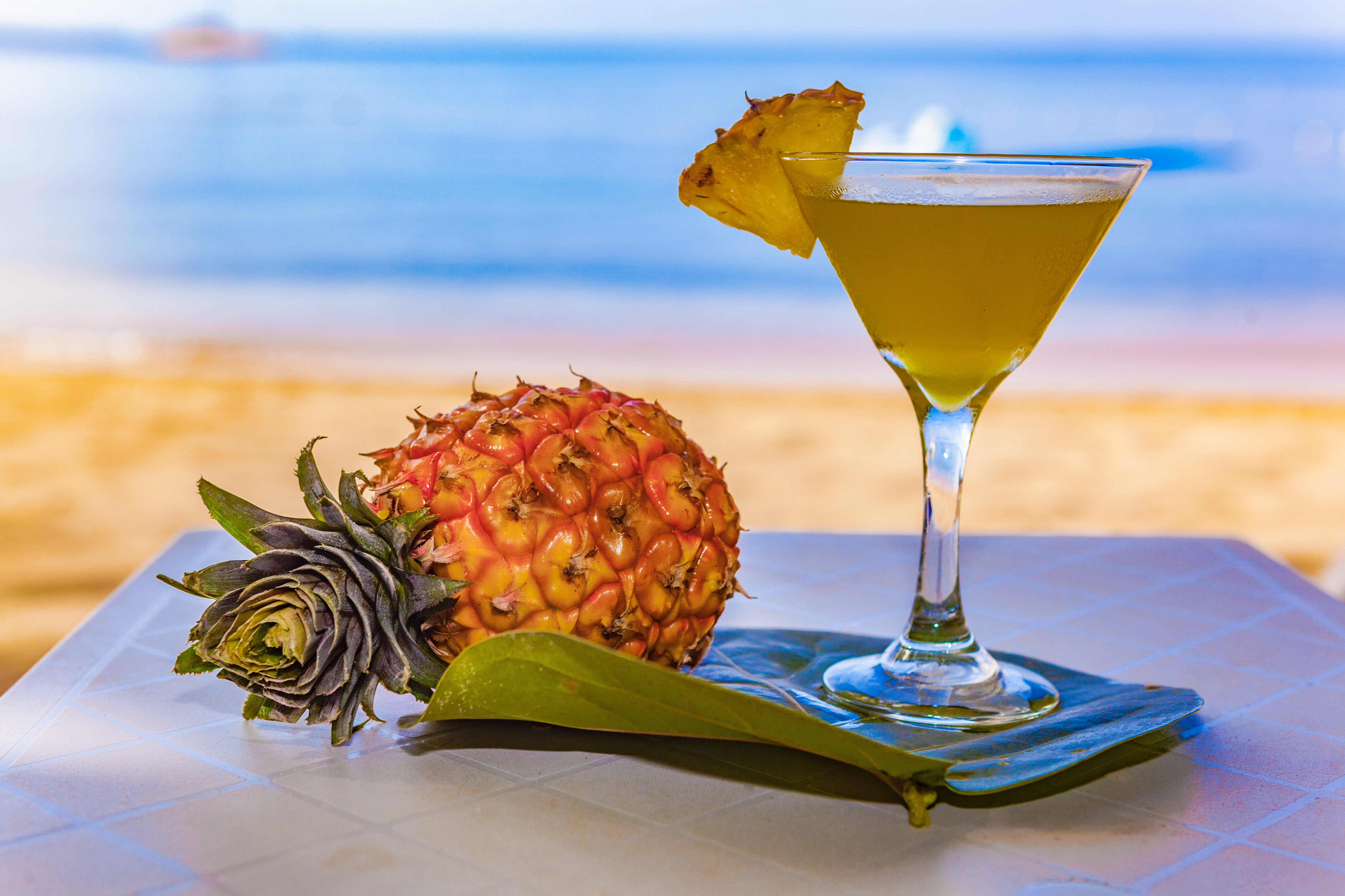 Down and Dirty Pineapple Martini