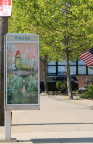"""""""Art in Ad Places"""" Transforms the City Sidewalks into a Gallery"""