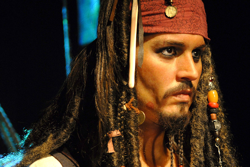 Johnny Depp (As Captain Jack Sparrow in 'Pirates of the Caribbean')
