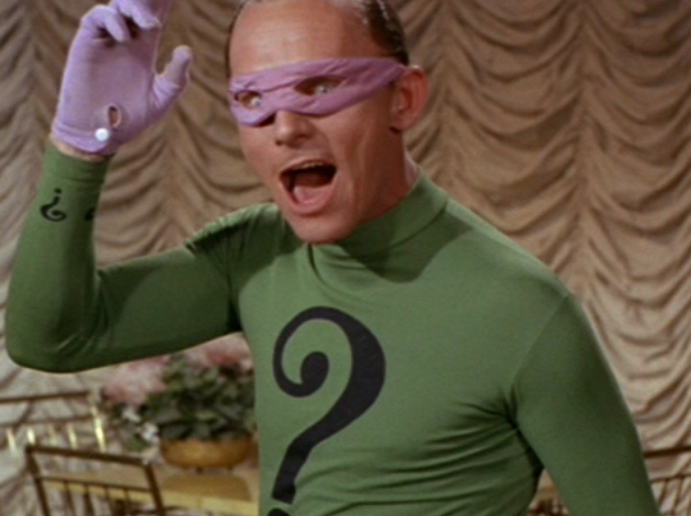 The Riddler: Then