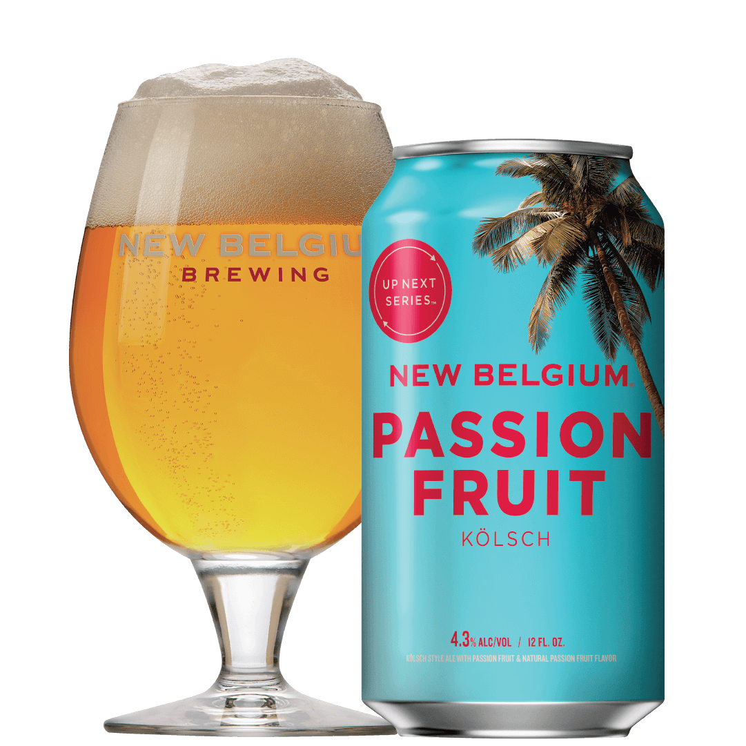 New Belgium Passion Fruit Kolsch and Grilled Vegetables