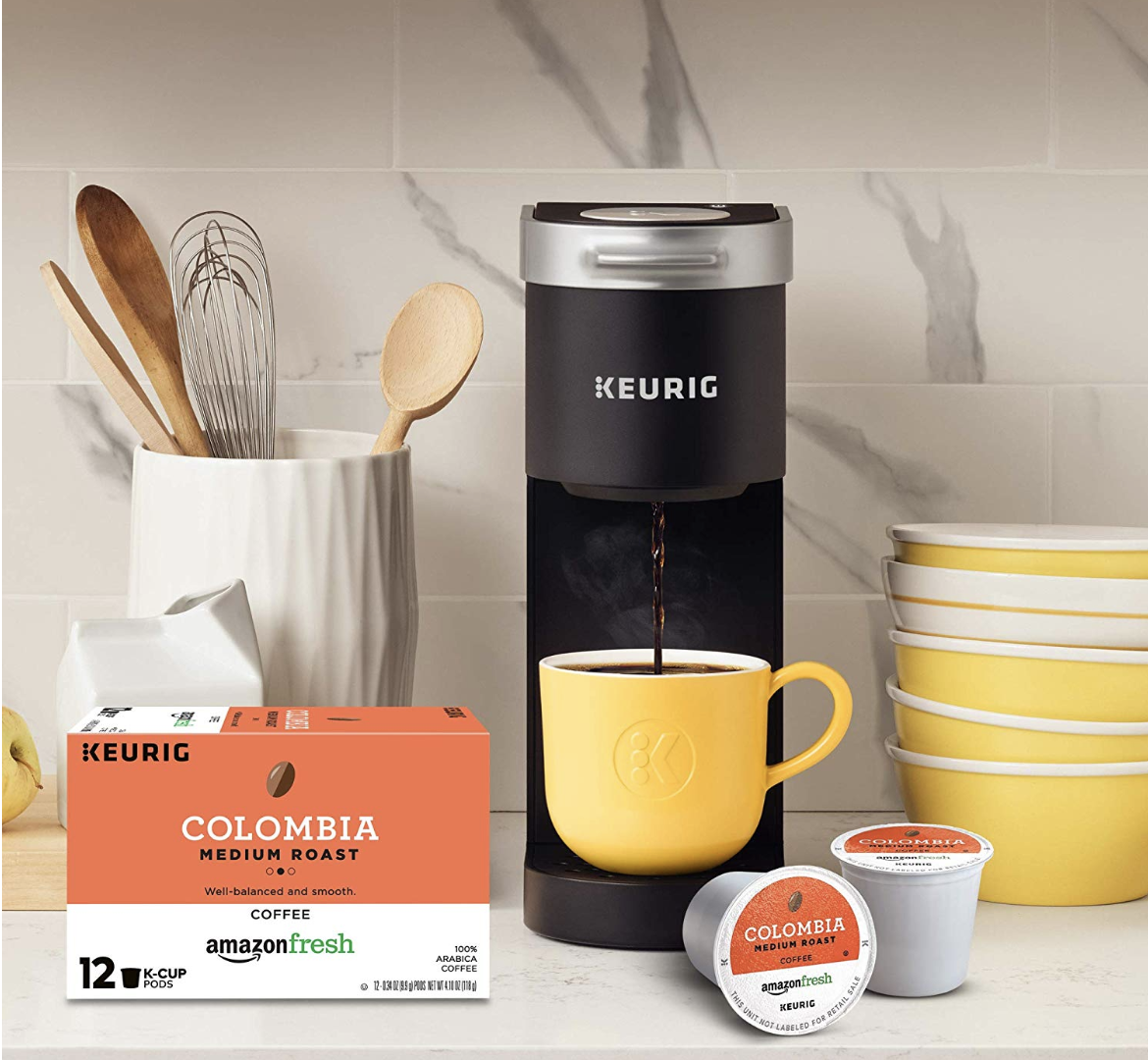 Keurig K-Mini Single Serve Coffee Maker with AmazonFresh K-Cups Coffee Pods - $49.99 (Down From $79.98)