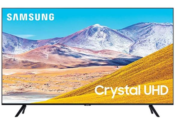 SAMSUNG 50-inch Class Crystal UHD TU-8000 Series - 4K UHD HDR Smart TV with Alexa Built-in