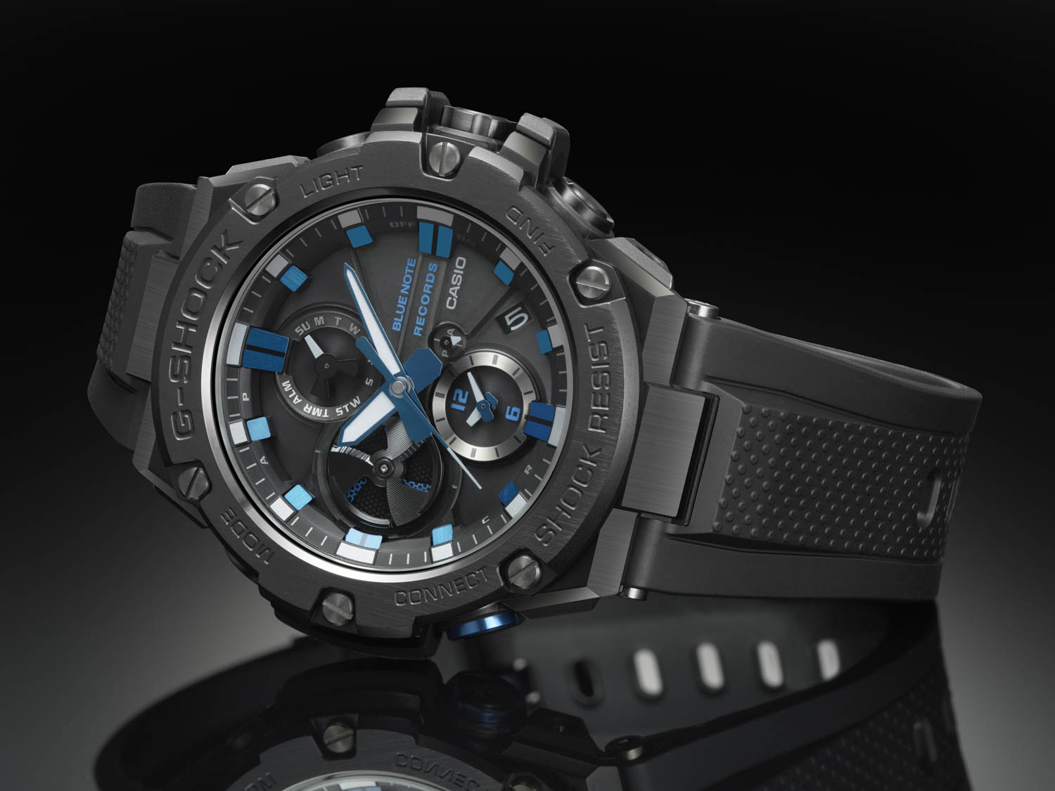 G-Shock X Blue Note Records Side View