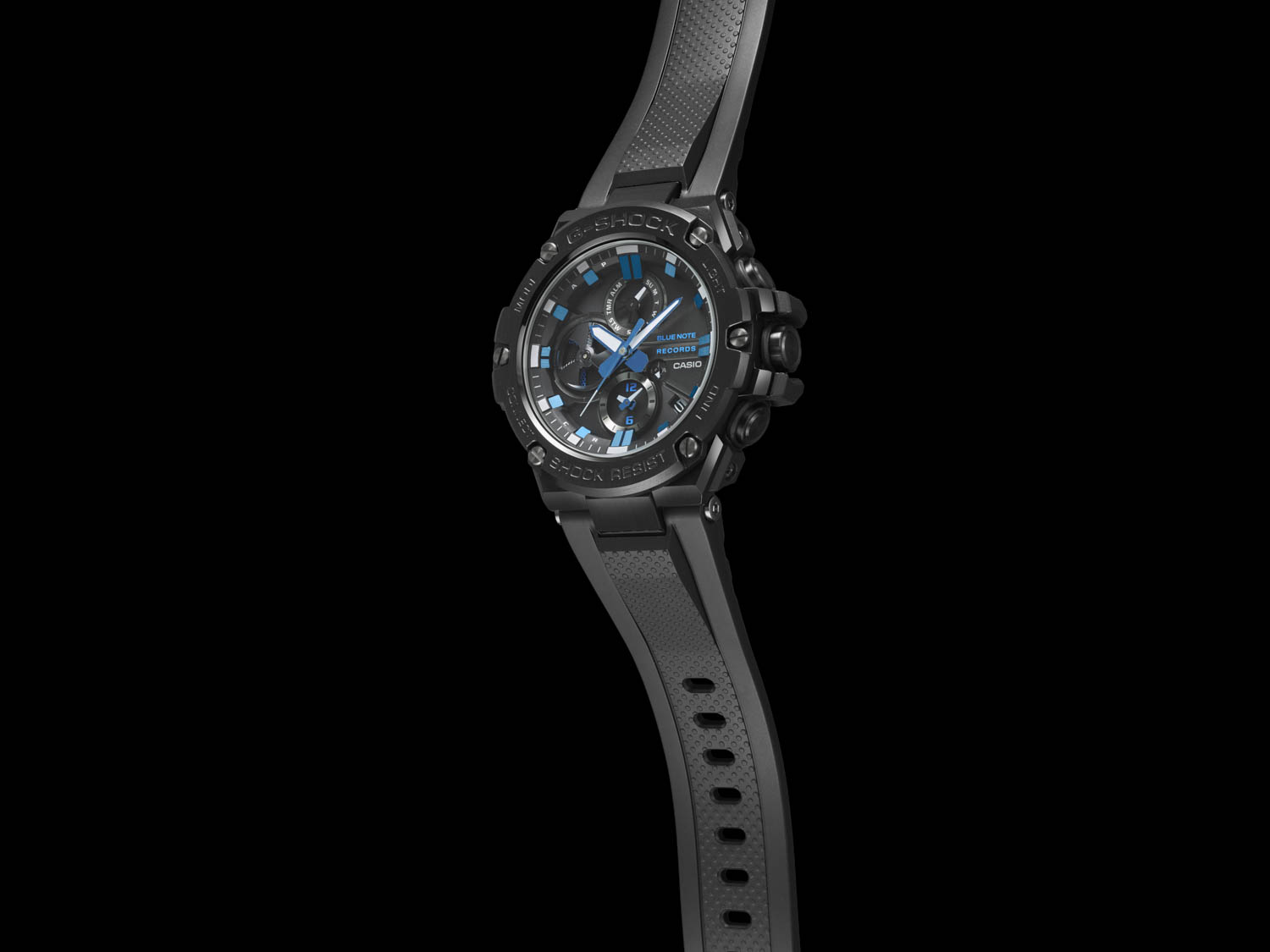 Watch Band View of G-Shock X Blue Note Records