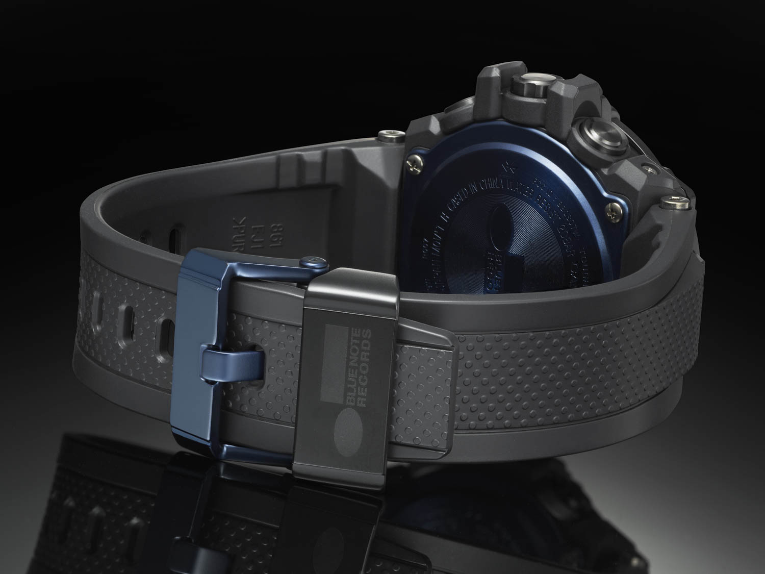 View of Watch Clasp G-Shock X Blue Note Records