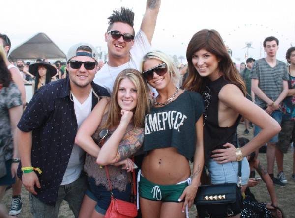 Coachella 2013: The Day in Pictures; 4/21/13