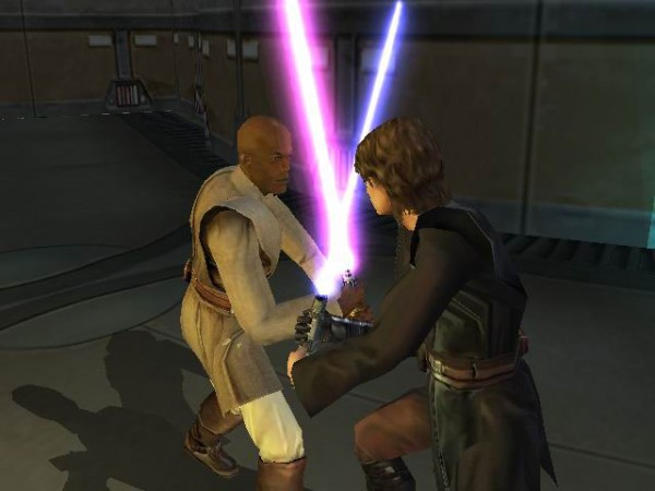 A Star Wars fighting game