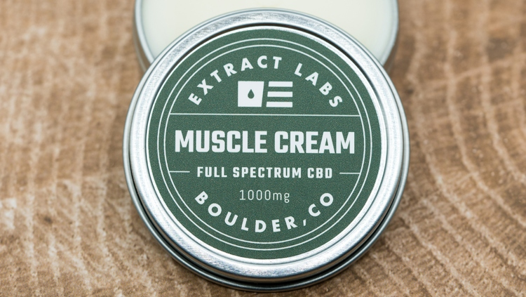 Extract Labs Full Spectrum CBD Muscle Cream 1000 Milligrams