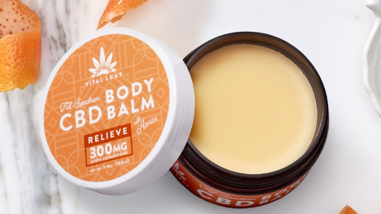 Vital Leaf CBD Body Balm with Arnica 300 Milligrams