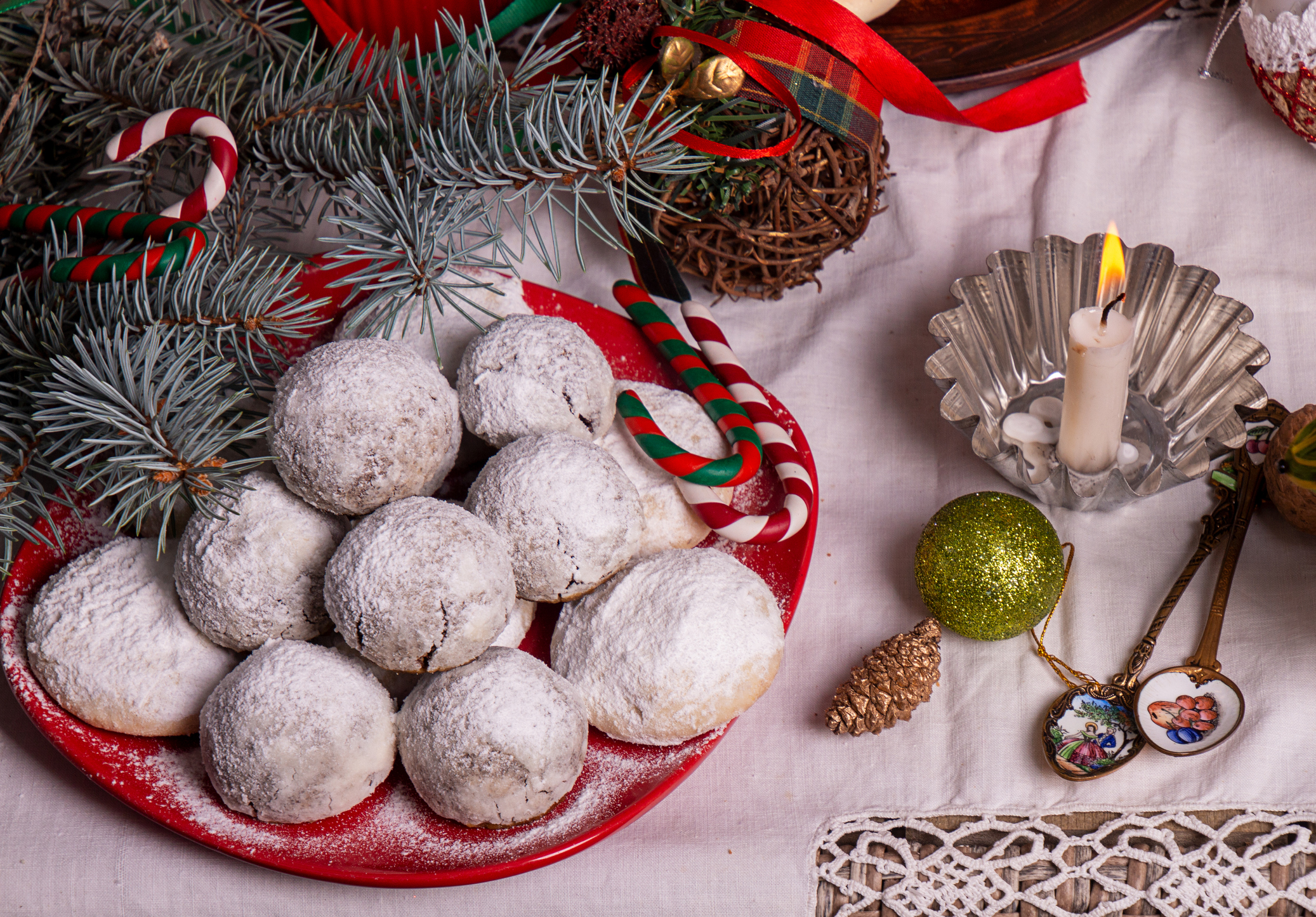 10. Snowball Cookies
